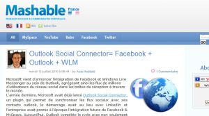 Site officiel : http://fr.mashable.com