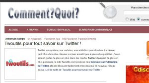 Site officiel : http://www.commentquoi.com