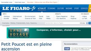 Site officiel : http://blog.lefigaro.fr