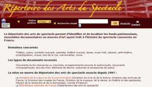 Site officiel : http://rasp.culture.fr