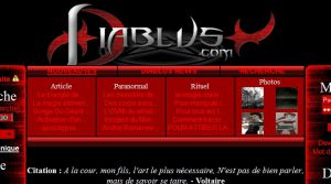 Site Officiel www diablus com