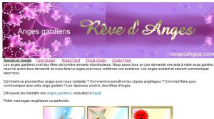 Site officiel : http://www.revedanges.com