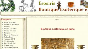 Site officiel : http://www.esosiris.com