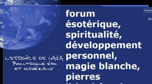Site officiel : http://www.forum-esoterique.fr