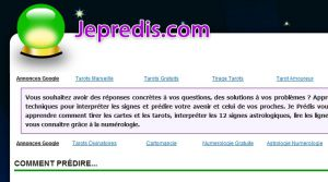 Site officiel : http://jepredis.com