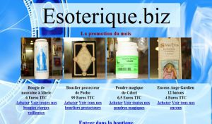 Site officiel : http://www.esoterique.biz