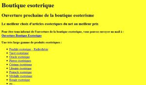 Site officiel : http://www.esoterisme.net