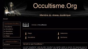 Site officiel : http://www.occultisme.org