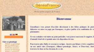 Site officiel : http://www.geneafrance.org