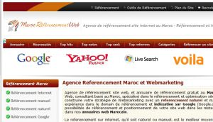 Site officiel : http://www.maroc-referencement-web.com