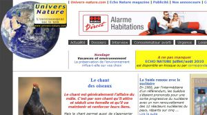Site officiel : http://www.univers-nature.com