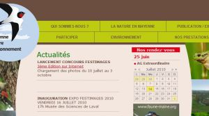 Site officiel : http://www.mayennenatureenvironnement.fr