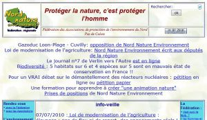 Site officiel : http://www.nord-nature.org