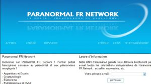 Site officiel : http://www.paranormal-fr.net