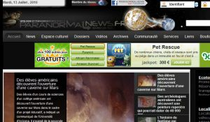Site officiel : http://www.paranormalnews.fr