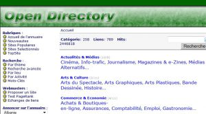 Site officiel : http://www.opendirectory.fr