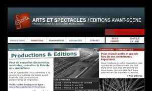 Site officiel : http://artsetspectacles.fr