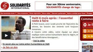 Site officiel : http://www.solidarites.org