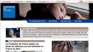 Site officiel : http://www.fondationdefrance.org