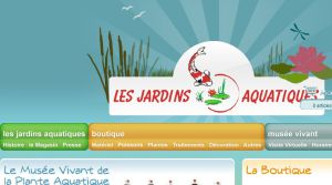 Site officiel : http://www.lesjardinsaquatiques.fr