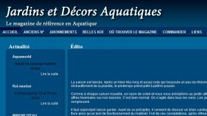 Site officiel : http://jardinaquatique.eu