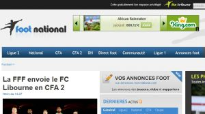 Site officiel : http://www.foot-national.com