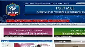Site officiel : http://www.fff.fr