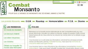 Site officiel : http://www.combat-monsanto.org