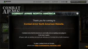 Site officiel : http://combatarms.nexon.net