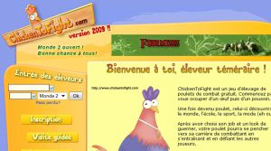 Site officiel : http://www.chickentofight.com