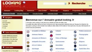 Site officiel : http://www.looking.fr
