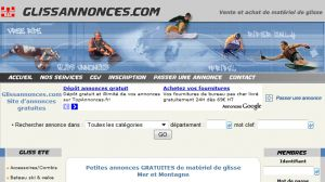 Site officiel : http://www.glissannonces.com