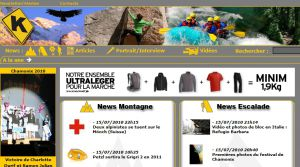 Site Officiel : KAIRN > Montagne / Escalade / Nature / Outdoor