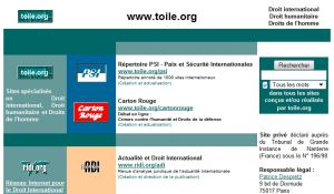 Site officiel : http://www.toile.org