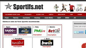 Site officiel : http://www.sportifs.net