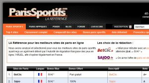 Site officiel : http://www.parissportifs.com