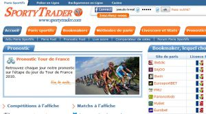 Site officiel : http://www.sportytrader.com