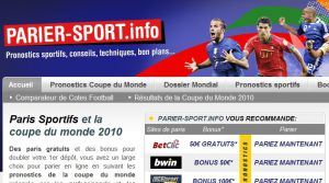 Site officiel : http://www.parier-sport.info
