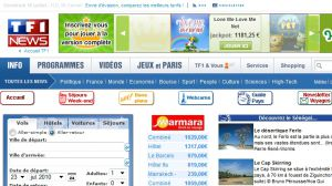 Site officiel : http://voyages.tf1.fr