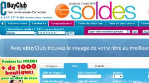 Site officiel : http://voyages.ebuyclub.com
