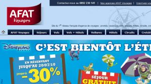 Site officiel : http://www.afatvoyages.fr