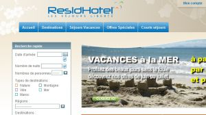 Site officiel : http://www.residhotel.com