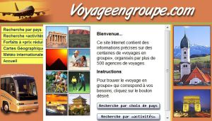 Site officiel : http://www.voyageengroupe.com
