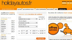 Site officiel : http://www.holidayautos.fr