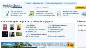 Site officiel : http://www.holidaycheck.fr