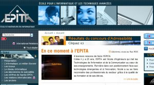 Site officiel : http://www.epita.fr