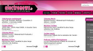 Site officiel : http://www.electronews.fr