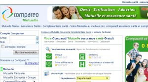 Site officiel : http://mutuelle.compareo.net
