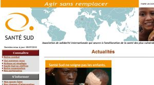 Site officiel : http://www.santesud.org