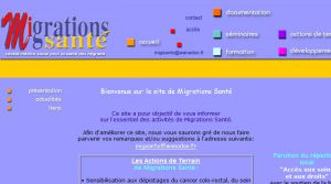 Site officiel : http://migrations-sante.eu